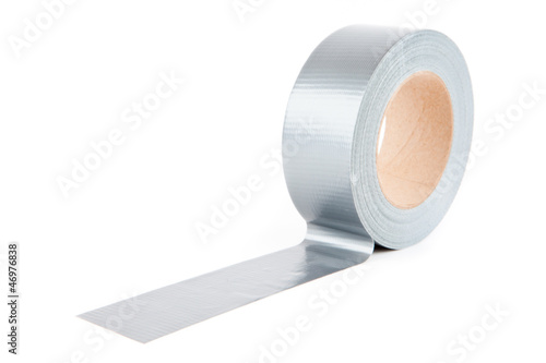 Roll of silver tape
