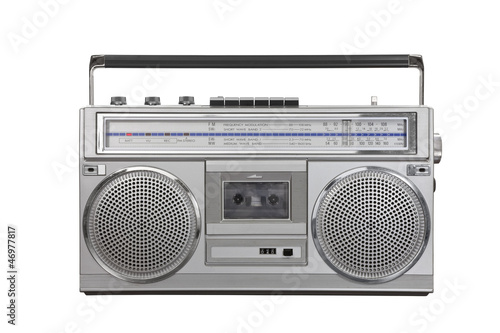 Vintage Ghetto Blaster Portable Radio Cassette