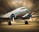 Fototapete Hobeln - Fracasso - Flugzeug