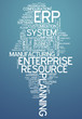 "Word Cloud ""Enterprise Resource Planning"""
