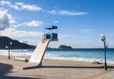 Zarautz beach in Vizcaya, Spain poster
