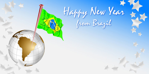 happy New Year 2013 from Brazil