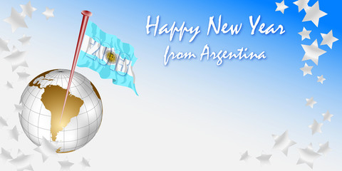Happy New Year 2013 from Argentina