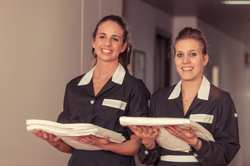 Chamber Maids at Work