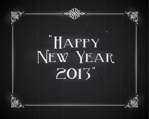 Movie still screen - Happy New Year 2013 - Editable