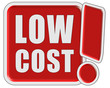 !-Schild rot LOW COST