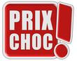 !-Schild rot quad PRIX CHOC