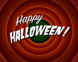 Halloween Movie still - Editable Vector.