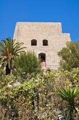 Talao tower. Scalea. Calabria. Italy.