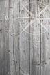 Windrose auf Holz