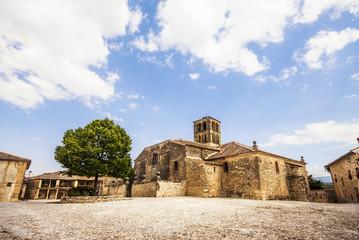 Church of Pedraza village, Segovia, Castilla y Leon, Spain
