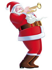 Santa Claus Trumpeter