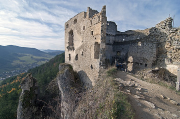 Ruins of Lietava castle