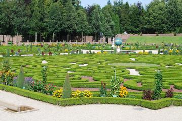Garden in Het Loo Palace (Apeldoorn, Netherlands)