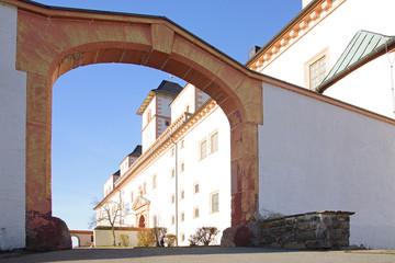 Schloss Augustusburg, Tordurchfahrt, Chemnitz
