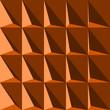 Muster Illusion mit Dreiecken