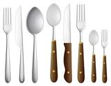 Fototapety a spoon set