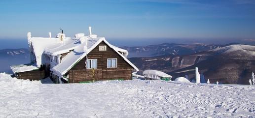Lysa hora Mountains