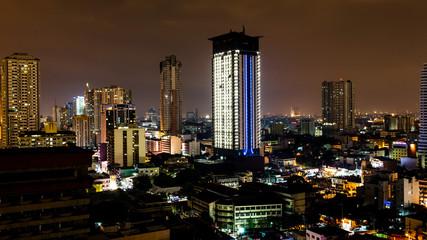 Malate cityscape