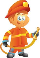 Fireman-fire fighter