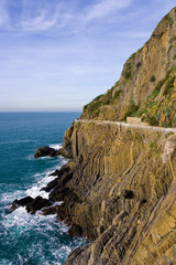 Cinque Terre , Road of love, Genoa , Liguria