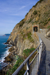 Cinque Terre - road of love - Five land