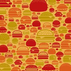 Hamburger a background