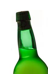 Cuello de botella de sidra