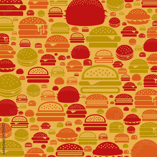 Hamburger a background