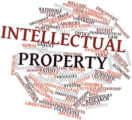 Word cloud for Intellectual property