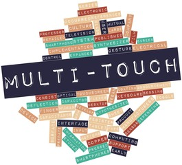 Word cloud for Multi-touch
