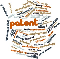 Word cloud for Patent