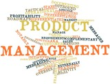 Word cloud for Product management