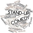 Word cloud for Stand-up comedy