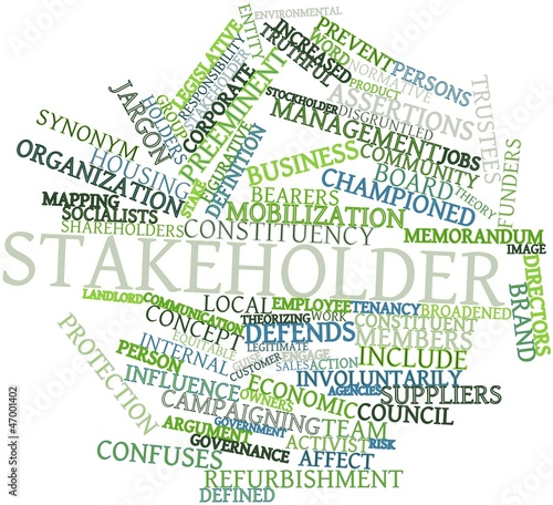 Word cloud for Stakeholder
