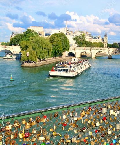 Fototapeten,paris,riverboat,romantisch,seine