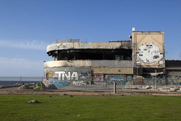 disco Dolphinarium was suicide bombing. Tel Aviv Israel