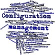 Word cloud for Configuration management