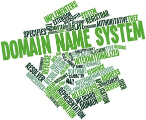 Word cloud for Domain Name System