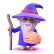 Wizard is studying your brain