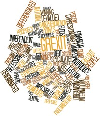 Word cloud for Grexit