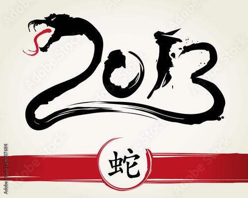 2013 Jahr der Schlange
