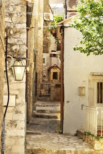 Dubrownik stare miasto ulica