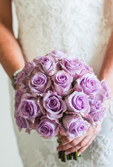 Flower bouquet for the bride.