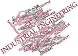 Word cloud for Industrial engineering