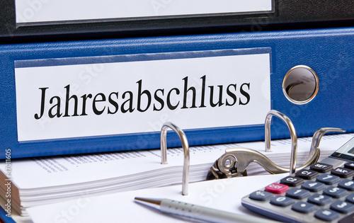 Jahresabschluss im Büro