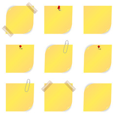 Notizzettel Set
