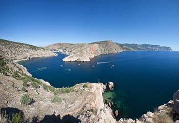 Balaklava Cove, Ukraine, Crimea, Black Sea