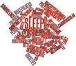 Word cloud for Sleep