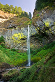 Elowah Falls in Columbia River Gorge of Oregon